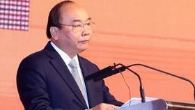 Thủ tướng Nguyễn Xuân Phúc phát biểu tại Diễn đàn. Ảnh: TTXVN