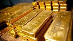 Giá vàng thế giới giảm sâu, vàng trong nước giảm cầm chừng. (Ảnh minh họa: KT).