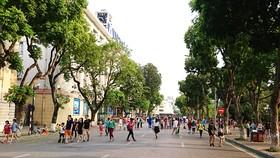 Đưa Không gian đi bộ khu vực hồ Hoàn Kiếm hoạt động chính thức