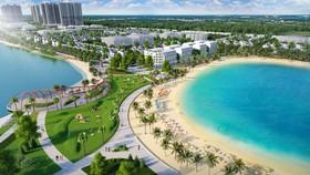 Biển hồ nhân tạo – tiện ích hàng đầu thế giới cho bất động sản hạng sang