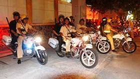 Công an TPHCM thường xuyên tuần tra bảo đảm an ninh trật tự