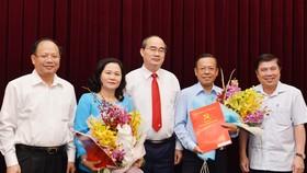 Ban Tổ chức, Ban Dân vận Thành ủy TPHCM có Trưởng ban mới