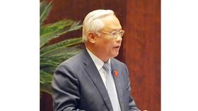 Phó Chủ tịch Quốc hội Uông Chu Lưu