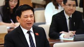 Tổng Kiểm toán Nhà nước Hồ Đức Phớc phát biểu tại phiên họp