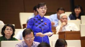 ĐBQH Nguyễn Thị Quyết Tâm, Phó Bí thư Thành ủy, Chủ tịch HĐND TPHCM