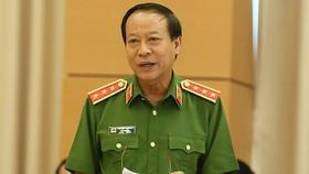 Thượng tướng Lê Quý Vương nói về vụ án liên quan cựu trung tướng Phan Văn Vĩnh    