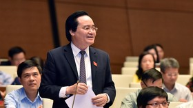 Bộ trưởng Giáo dục Đào tạo Phùng Xuân Nhạ