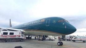 Máy bay Vietnam Airlines phải hạ cánh khẩn cấp để cấp cứu hành khách