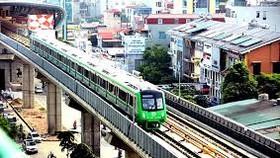 Lập 5 đoàn tàu chạy thử trên tuyến Cát Linh - Hà Đông