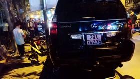 Nữ tài xế xe Lexus gây tai nạn liên hoàn có nồng độ cồn vượt ngưỡng