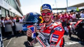 Niềm vui chiến thắng của Dovizioso