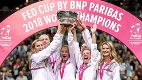 Tuyển CH Séc đăng quang ngôi vô địch Fed Cup 2018