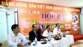 Quang cảnh buổi họp báo giới thiệu về giải