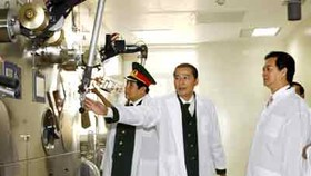 Vietnam launches first atomic energy research center