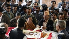 Thousands bid farewell to former Nepal PM Koirala