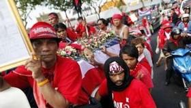 Protesters demand immediate Parliament dissolution