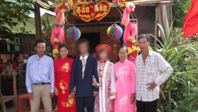Child marriage an everyday thing in Mekong Delta