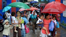 Typhoon Conson causes major damage in Philippines