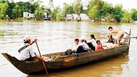 Mekong Delta residents look forward to flooding