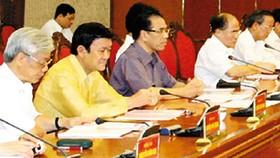 Party Politburo asks army to renovate