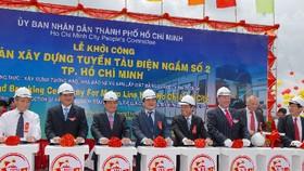 Khởi công xây dựng tuyến Metro số 2