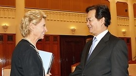 Gov't leader looks to cooperation with US