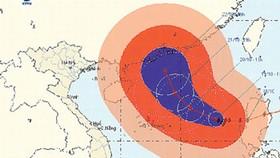 Super Typhoon Megi can change direction