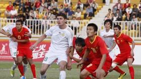 Vietnam bow to Turkmenistan in Asian Games football