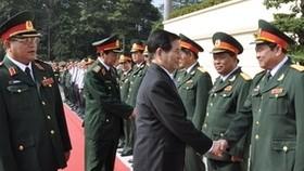 President praises military zone 7's development