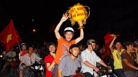 Vietnam jubilant on win by national squad!