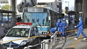Japan knife rampage on buses leaves 13 wounded