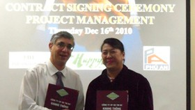 Khang Thong, US firms ink deal for billion-dollar property development