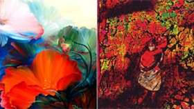 Painting exhibition of women artists in Ho Chi Minh City