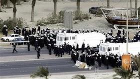 U.S. berates Bahrain, Gulf allies as tensions spread
