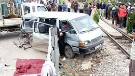 Train accident kills nine