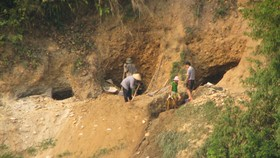 Five die in illegal gold mine collapse