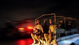 Militants storm Pakistan naval air base, five dead