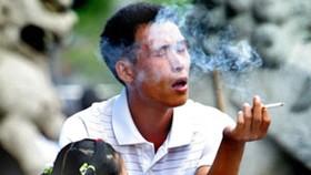 300, 000 Vietnamese kids' passive smokers