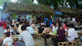 Southern food fair in HCMC