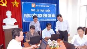 Giao lưu trực tuyến: Phòng chống dịch bệnh giao mùa