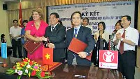 Tripartite MOU signed for 'education during emergency'