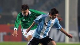 Argentine federation head defends Messi