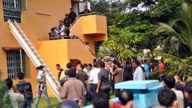 Malaysian children safe after hostage-taker shot
