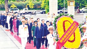 Party, State leaders commemorate martyrs