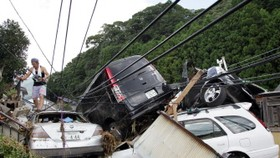 At least 37 die in Japan typhoon