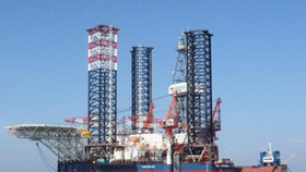 PetroVietnam launches 1st Vietnam-made oilrig