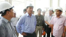 Chief of air terminal construction project in Da Nang replaced