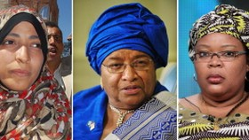 Three women share Nobel Peace Prize