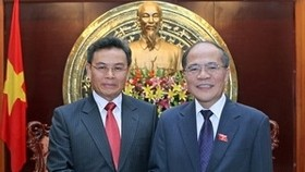 Vietnam, Laos beef up cooperation