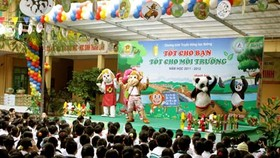 Preschool project in Hanoi, HCMC stresses environment conservation